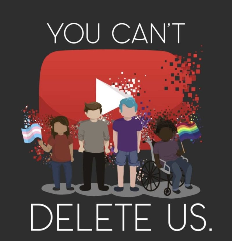 you can't delete us