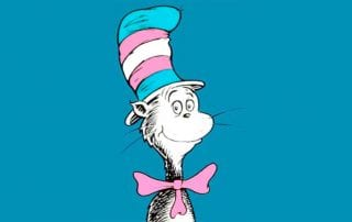 transgender cat in the hat